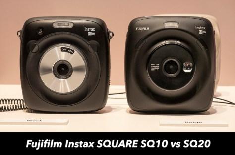 fuji instax sq10 vs sq20
