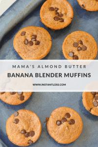 Banana Blender Muffins instantloss.com