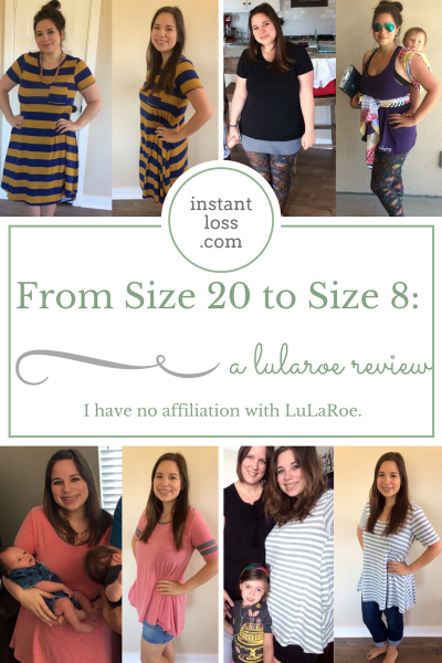 From Size 20 to Size 8: A LuLaRoe Review instantloss.com