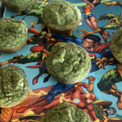 Incredible Hulk Blender Muffins