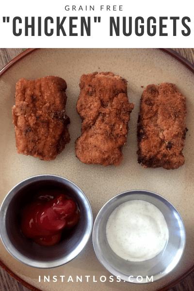 Grain Free Chicken Nuggets instantloss.com