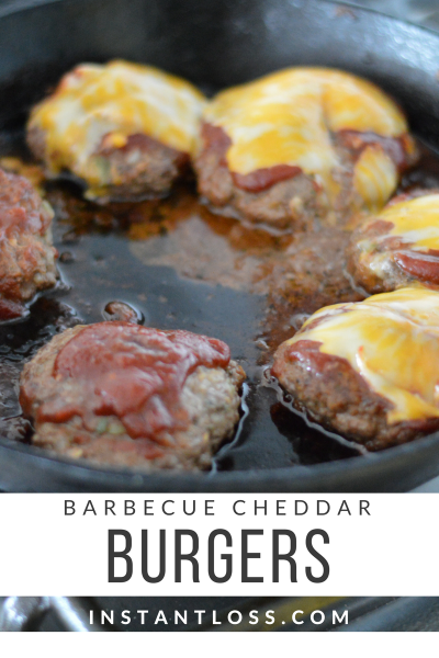 Barbecue Cheddar Burgers instantloss.com
