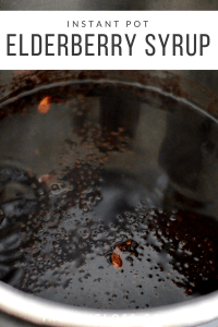 Instant Pot Elderberry Syrup instantloss.com