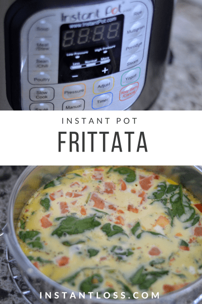 Instant Pot Simple Frittata instantloss.com