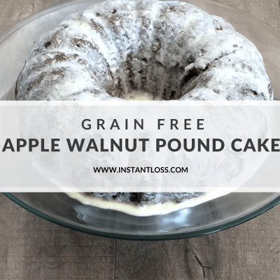 Grain Free Apple Pound Cake