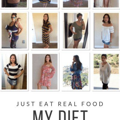 Just Eat Real Food {My Diet}