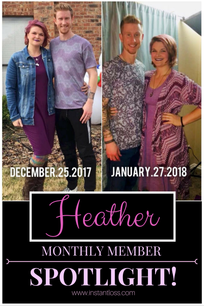 Monthly Member Spotlight Heather