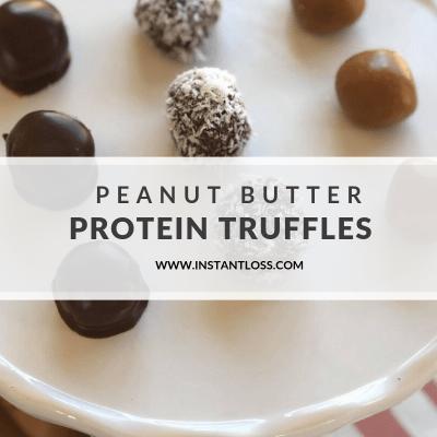 Peanut Butter Protein Truffles
