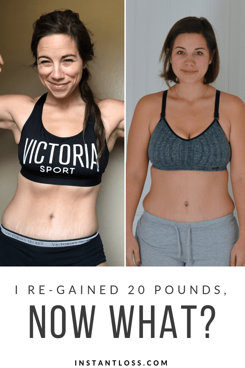 I Re-Gained 20 Pounds, Now What?