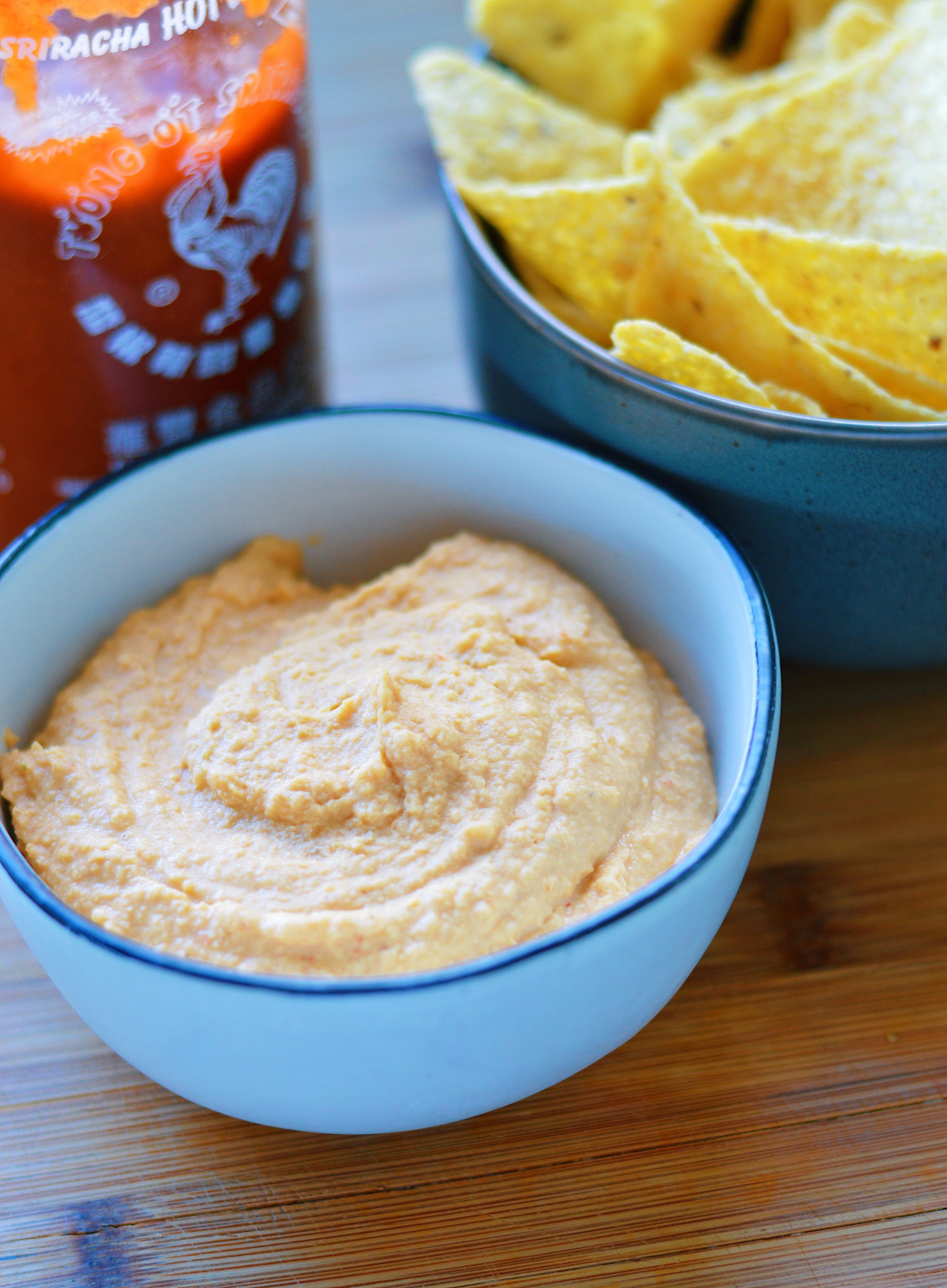 Instant Pot Sriracha Hummus instantloss.com