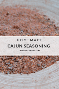 Homemade Cajun Seasoning instantloss.com
