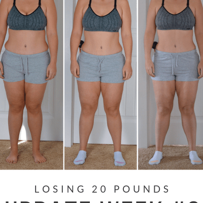 Losing 20 Pounds/Update Week #2