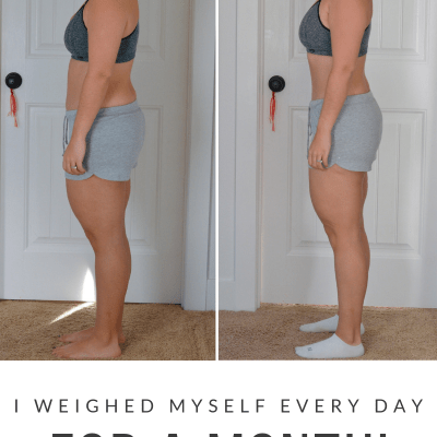 I Weighed Myself Every Day for a Month! Weight Loss Update!