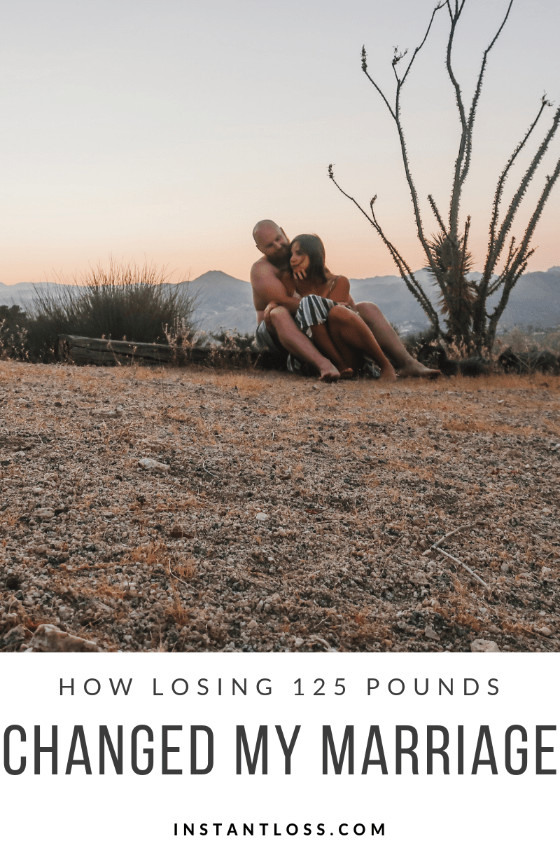 How Losing 125 Pounds Changed My Marriage