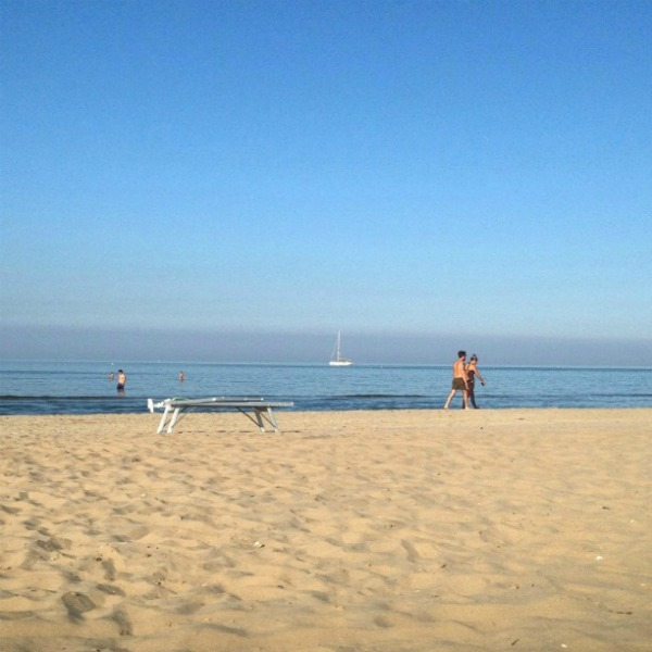 A relaxing holiday in Rimini, beach