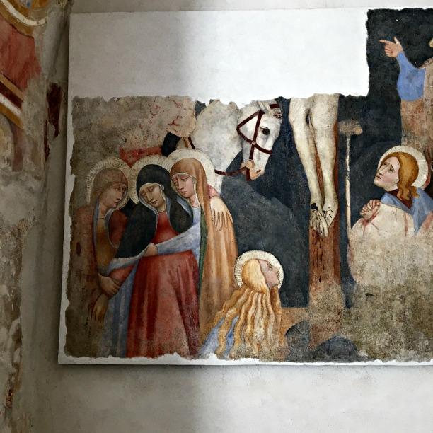 Frescoes in Finalborgo