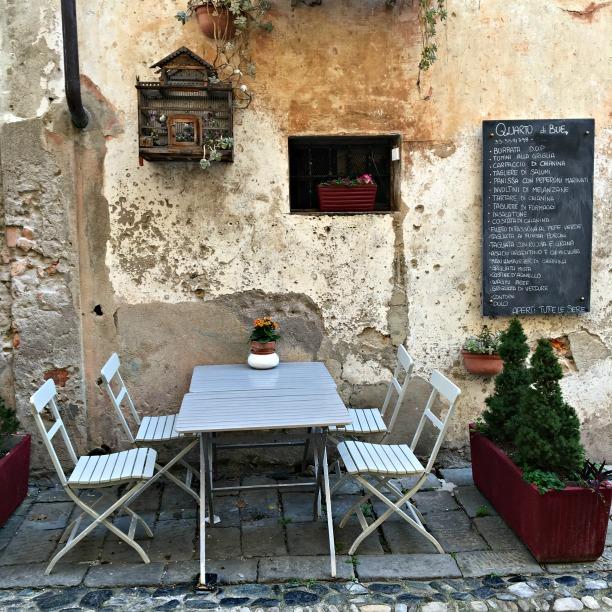 A nice restaurant in Finalborgo