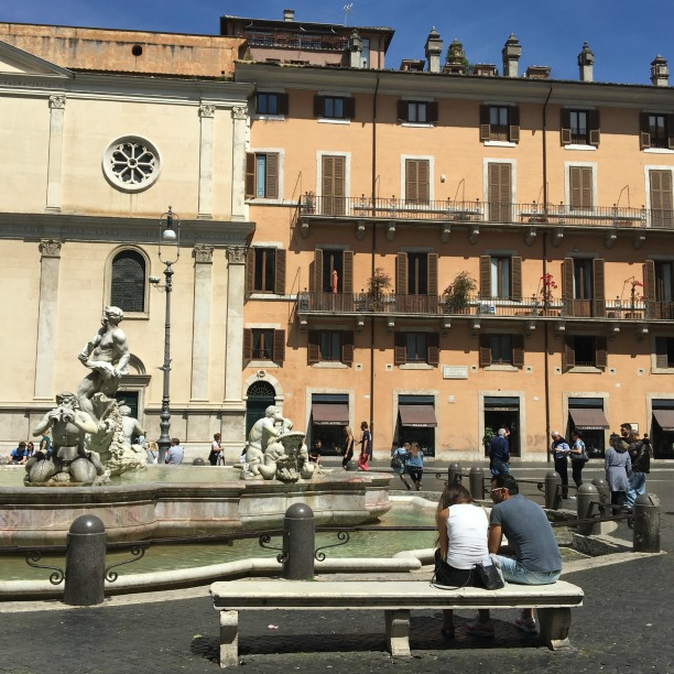Rome in one day, Piazza Navona