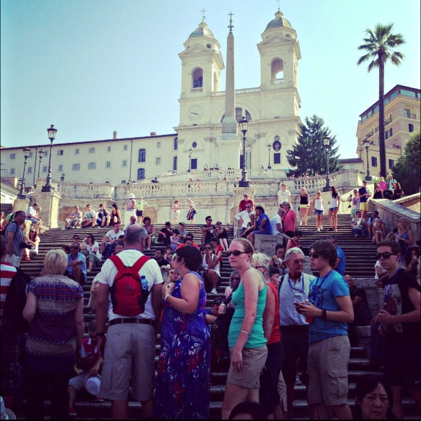 Rome in one day, Spanish Steps