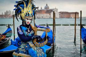 The carnival of Venice on Instantly Italy