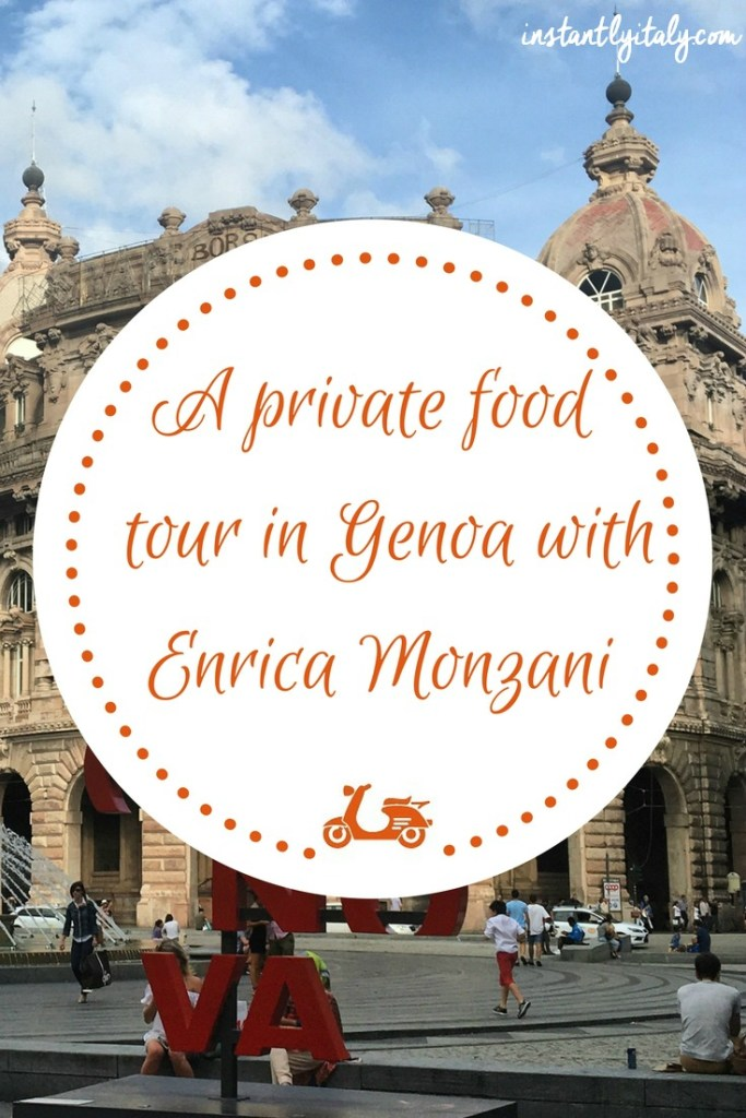 A private food tour is an amazing way to discover all the culinary secrets of a certain place. In this blog post, I tell you about the tour I did with Enrica Monzani, who took us around the streets and foods of Genoa.