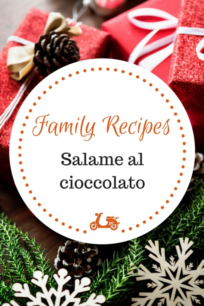 Every family has its own traditions for Christmas and most likely they'll include a special dish or a yummy dessert. In today's post, I am sharing my mom's recipe for salame al cioccolato, which is a staple in our Christmas and which she has been preparing ever since I was a kid