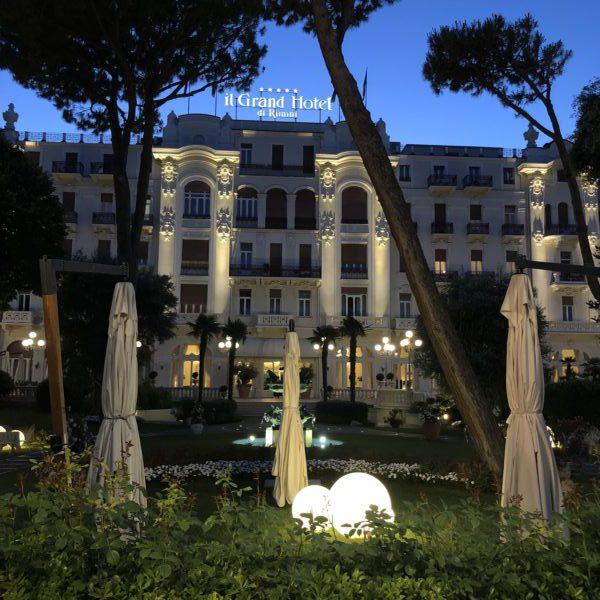 Rimini, the Grand Hotel