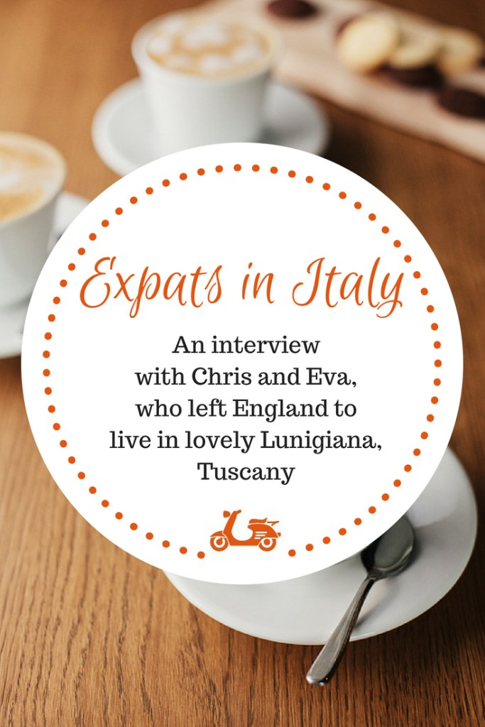 Expats in Italy: A Double Interview With Chris and Eva of Shabby Sheep Design