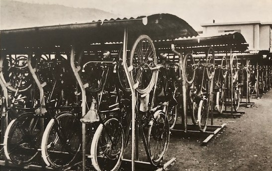 Ferrania, employees' bicycles