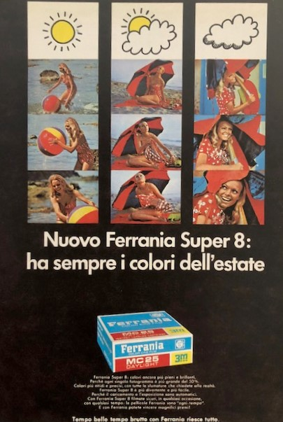 Ferrania, an advertisement