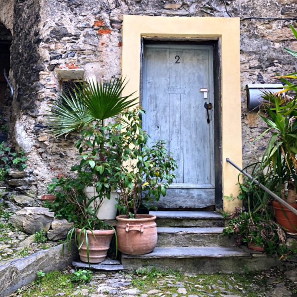 Triora, a door in the old village