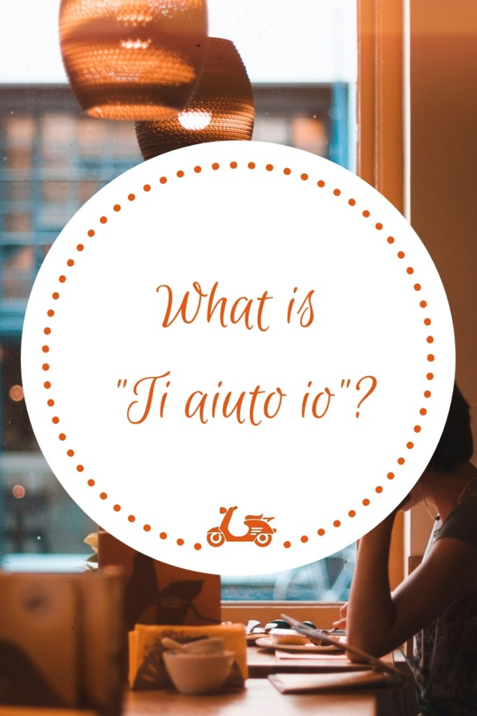 Ti aiuto io is my new Italian language tutoring service to help you study Italian on your own but with a teacher by your side to guide you
