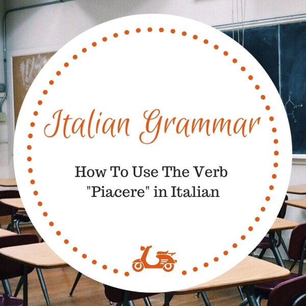 In this post, I focus on how to use piacere in Italian, a simple topic that is not so easy