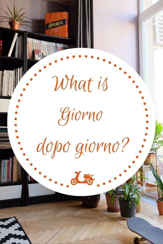Giorno dopo giorno is your daily Italian practice, a way to work on your Italian on a daily basis