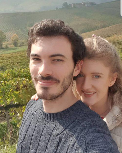 Olivia and her boyfriend