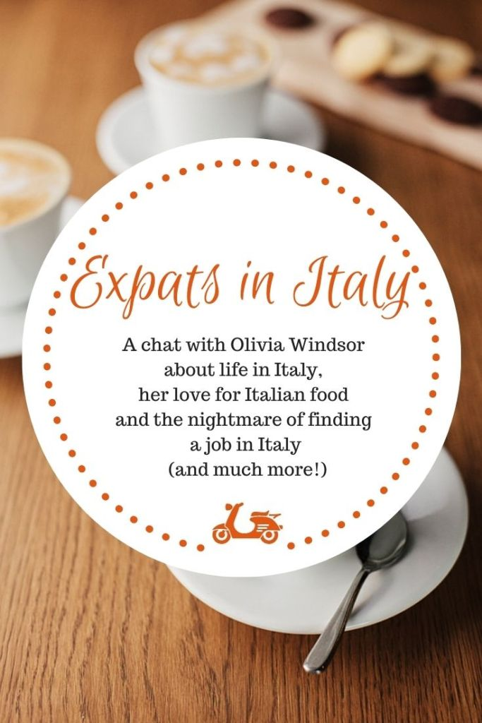 In this post, Olivia tells us about life in Italy and the nightmare of finding a job in Italy