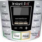 Instant Pot IP-CSG60 Control Panel