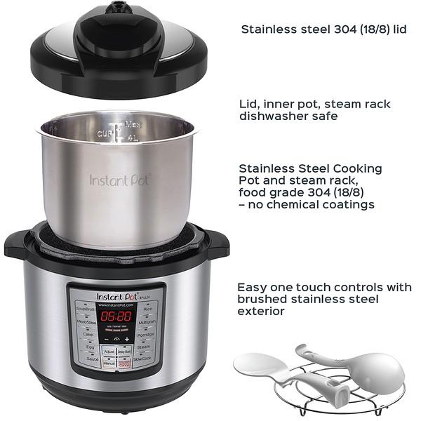 Lux 8 Quart Instant Pot