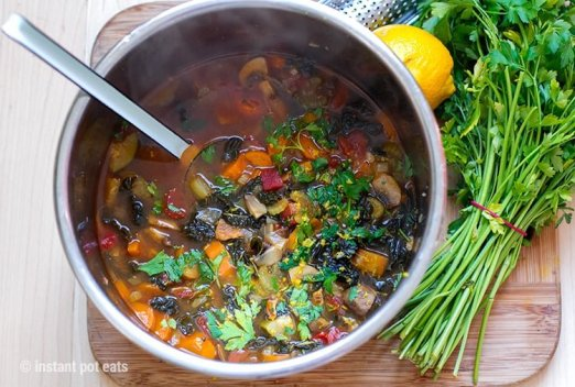 20 instant pot vegan recipes that everyone will love want a quick and easy soup that is hearty and nutritious this italian inspired farmhouse soup is just the thing its a tasty vegan vegetable soup for forumfinder Image collections