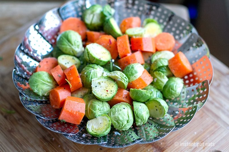 Steaming Vegetables In An Instant Pot