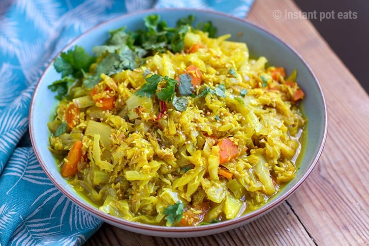 Sri lankan coconut cabbage instant pot pressure cooker recipe sri lankan coconut cabbage forumfinder Image collections