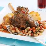 Italian-style Instant Pot Lamb Shanks With White Beans