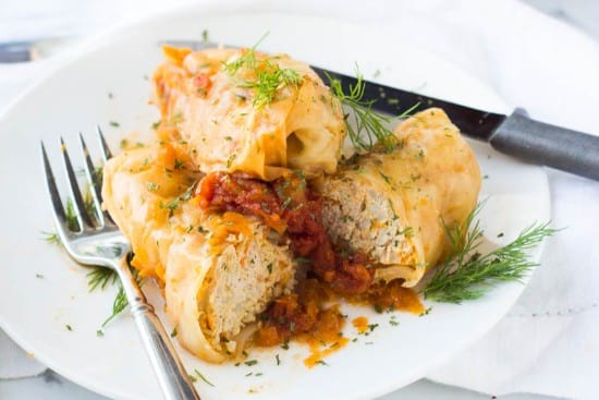 Turkey Stuffed Cabbage With Instant Pot