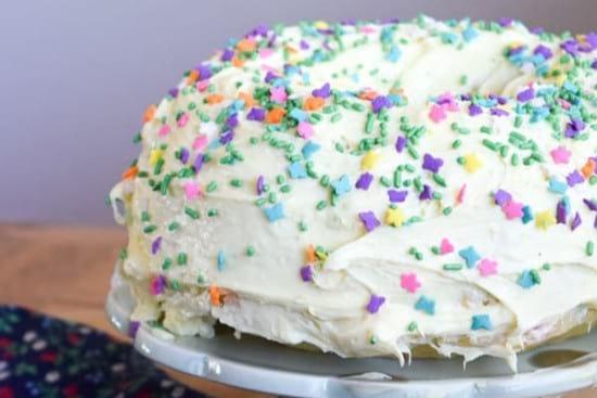 Instant Pot Funfetti Cake