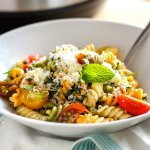 Instant Pot Pasta With Ricotta, Lemon & Spinach