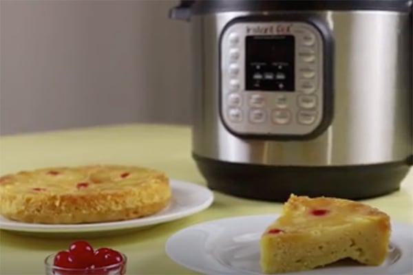 Best Instant Pot BBQ Party Recipes Pineapple Upside-Down Cake