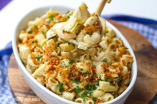 Best Instant Pot BBQ Party Recipes Vegan Mac and Cheese