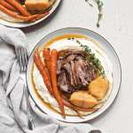 Instant Pot Balsamic Dijon Pot Roast