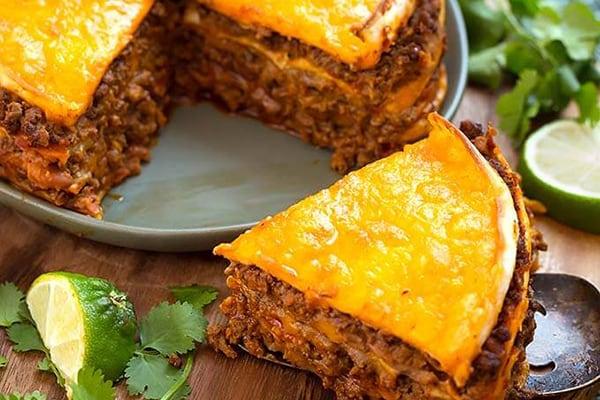 20+ Instant Pot Mexican Recipes - Taco Pie