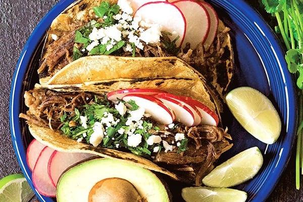 35+ Summer Instant Pot Recipes Shredded Beef Tacos
